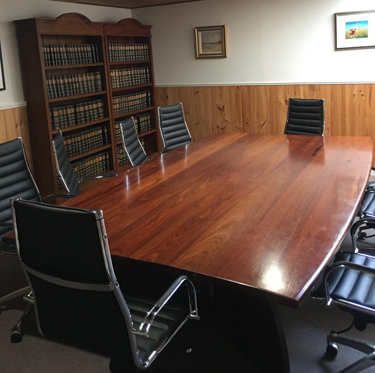 Andrew Williams Criminal Defence Lawyer Fremantle Office Meeting Room